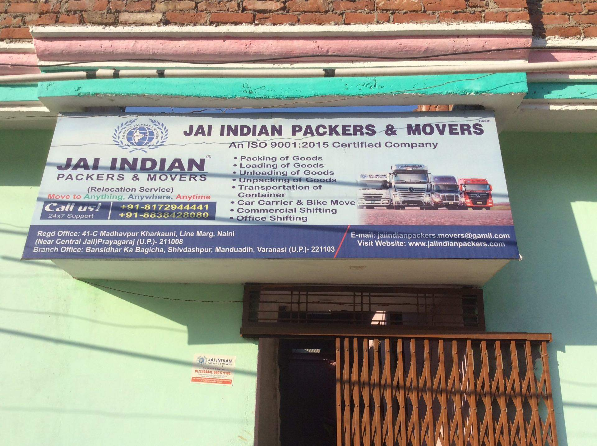 Jai Indian Packers & Movers