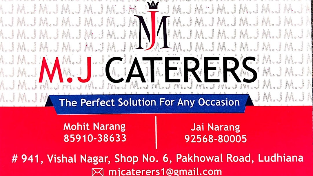 MJ Caterers
